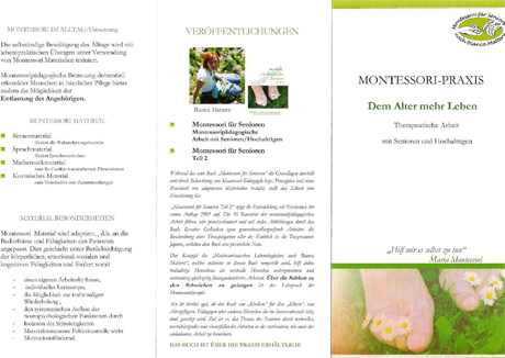 Flyer Montessori Praxis